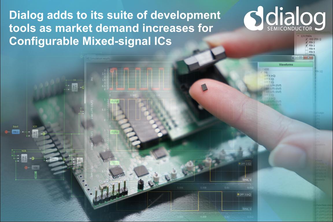 Dialog推可配置混合信号芯片 帮IC设计工程师做减法