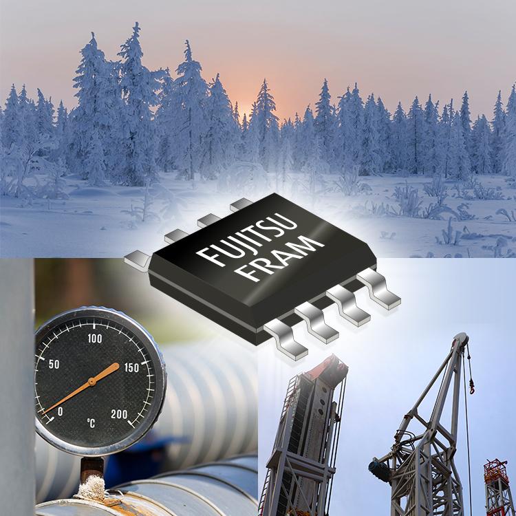 富士通推出能于摄氏零下55度操作存储器FRAM 并已量产供货