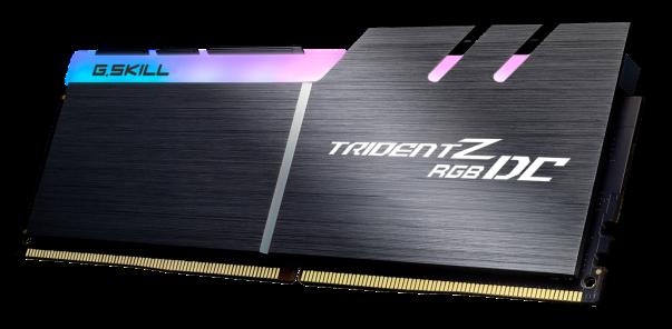 芝奇推出双倍容量Trident Z RGB DC DDR4 32GBx2系列内存
