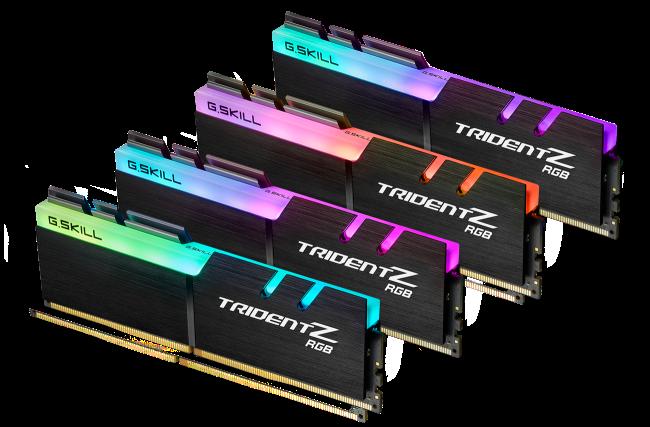 芝奇展示Z390旗舰內存速度 - DDR4-4800 16GB(2x8GB)及DDR4-4500 32GB(4x8GB)